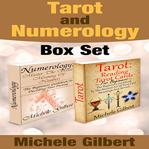 Tarot and Numerology Box Set audiobook cover art
