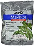 Zand HerbaLozenge Menthol | Peppermint & Eucalyptus Lozenges w/Herbal Blend for Soothing Throat | No Corn Syrup, No Cane Sugar | 15 Lozenges | 3 pk