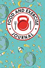 Food and Exercise Journal: Daily Food Diary, Food Diary Template, Food And Exercise Log, Food Tracking Journal (Food and Exercise Journals) (Volume 78)