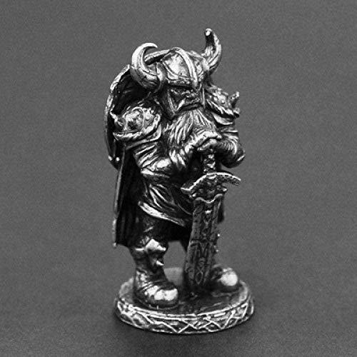 Xianglsp Co.,ltd Antiguo Vikingo nórdico Odin Cobre Colgante Collar Amuleto Hombres Mujeres joyería de Motorista