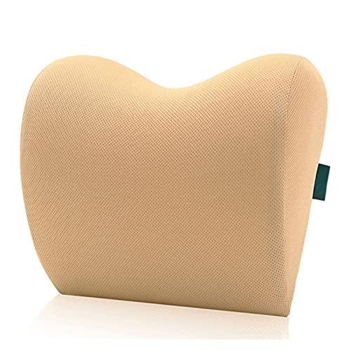 Popular 2pcs / 1pc Cabeza de cuello del cuello del cuello del cuello del cuello del cuello para la silla del asiento en la memoria de la memoria automática de la espuma del algodón de la tela de la cu
