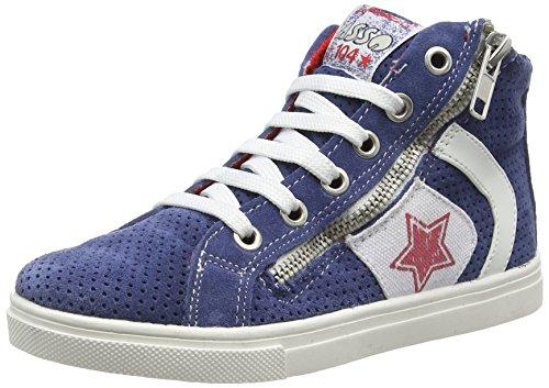 Asso 39401, Sneakers Hautes garçon, Bleu (Ming), 34