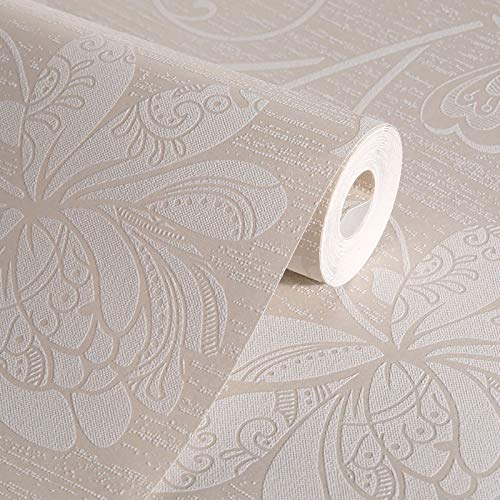 jeerbly, Carta da parati in tessuto non tessuto, con moderno motivo con fiori di Iris japonica, decorazione per la casa, per soggiorno, camera da letto, interni e sfondo della TV