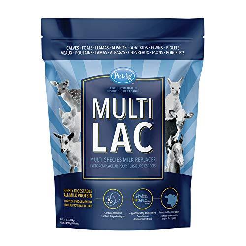 PetAg Multi-Lac Multi-Species Milk Replacer, 11 lb