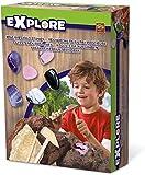 SES Creative Explore Edelsteine ausgraben Mine Precious Stones 25021, Mehrfarbig -