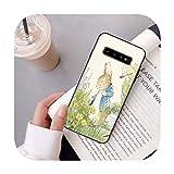 Funda para Samsung J6 2018 con diseño de conejo