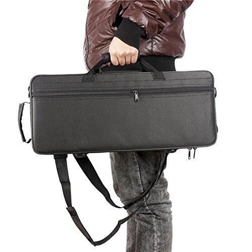 Trompettas 600D waterafstotende trompet Gigbag Oxford doek Pocket Foam Cotton gewatteerde trompet rugzak case box met verstelbare riem