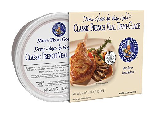 More Than Gourmet De Veau Gold, Classic French Veal Demi-Glace, 16 Ounce