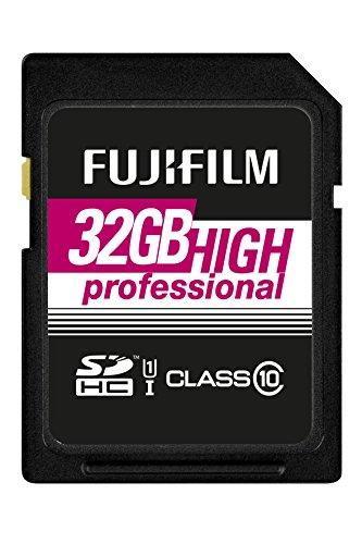 Fujifilm - Scheda di memoria 32GB SDHC UHS-I, classe 10