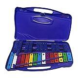 Yongirl Glockenspiel Professionnel 25 Notes Xylophone Instrument de Musique...