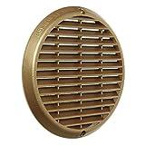 La ventilación astr190z-y Rejilla Protectora de superponer, aluminio bronce