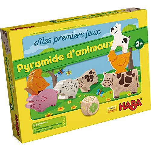 Mes premiers jeux - Pyramide d'animaux - Haba
