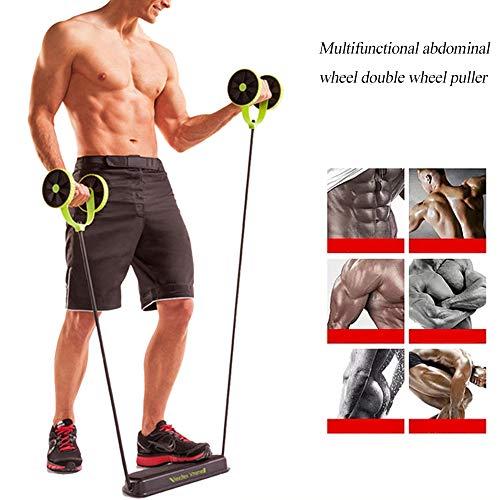 Hoomall Hommes Femme Fitness Préparateur Abdominal ABS Kit De Formation des Bandes De Résistance Exercice Multifonction Crossfit Exercice
