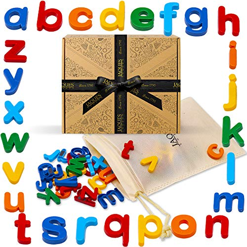 Jaques of London Alphabet Fridge Magnets | Letter Magnets for kids | Fridge...