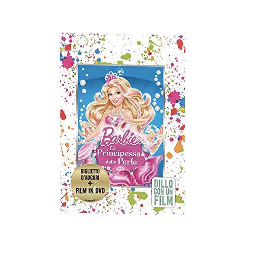 RF Distribution Grußkarte mit DVD inkl. Barbie und die Prinzessin der Perle