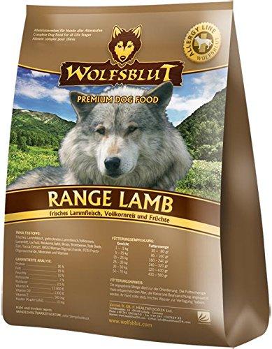 Wolfsblut | Range Lamb | 2 kg | Lamm | Trockenfutter | Hundefutter | Getreidefrei