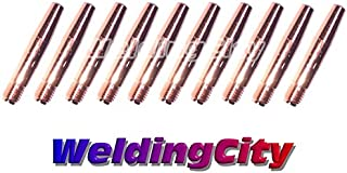 WeldingCity 10-pk Tapered Contact Tip 14T-35 for Lincoln Magnum 200-400A and Tweco #2-#4 MIG Welding Guns