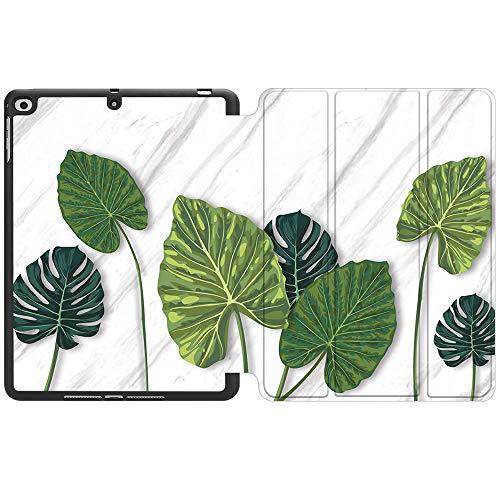 SDH Funda para iPad de 9,7 pulgadas 2018 2017,iPad Air 1 / iPad Air 2 Smart Cover Folio Stand Protector para Apple iPad 5ª 6ª generación (A1822/A1823/A1893/A1954), Beautiful Leaves 2