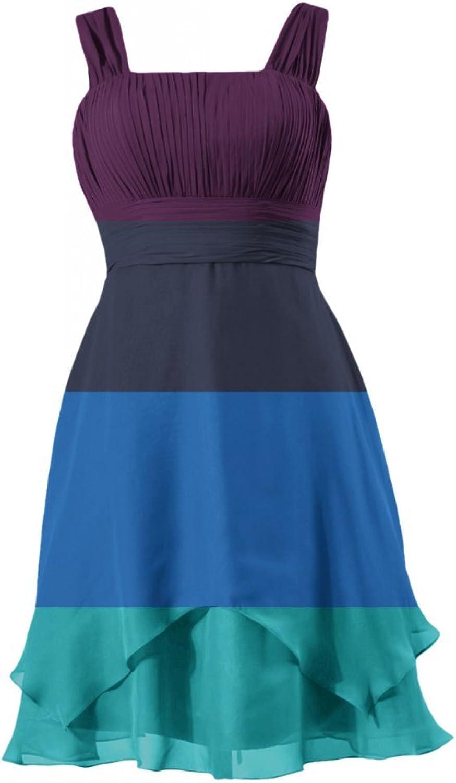 DaisyFormals reg; Cocktail Dress Knee Length Prom Dress W Flowing Layers(BM912)