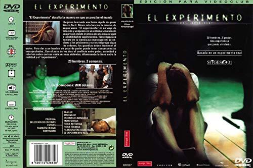 EL EXPERIMENTO DVD