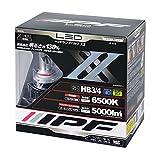 IPF ヘッドライト LED HB4 HB3 バルブ ハイビーム 12V/24V 兼用 6500K 5000lm 351HLB2 プリウス アルファード など