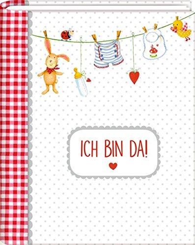 Kleines Foto-Einsteckalbum - BabyGlück - Ich bin da!