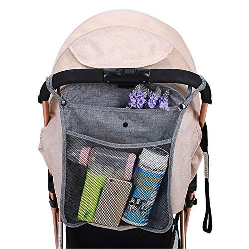 ViVidLife Kinderwagen Organizer, Universal Einkaufsnetz Kinderwagentasche Wickeltasche Sportwagen Buggy Organizer Netz Taschen für Spielzeug, Windeln, Trinkflaschen, Handys und andere Babysachen