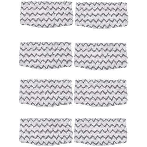 WPLHH 8 paquetes de almohadillas de microfibra de agarre de suciedad para fregona de vapor Shark S1000 S1000A S1000C S1000WM S1001C aspiradoras aspiradora