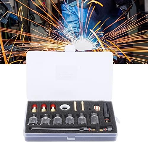 Kit de abrazadera de tungsteno para soldadura, kit de accesorios de antorcha de soldadura estable para fábrica para componente electrónico para uso profesional para fines generales