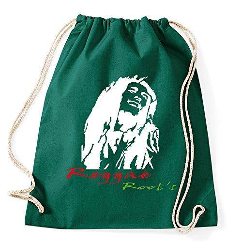 Art T-shirt, rugzak Bob Marley Reggae, gymtas