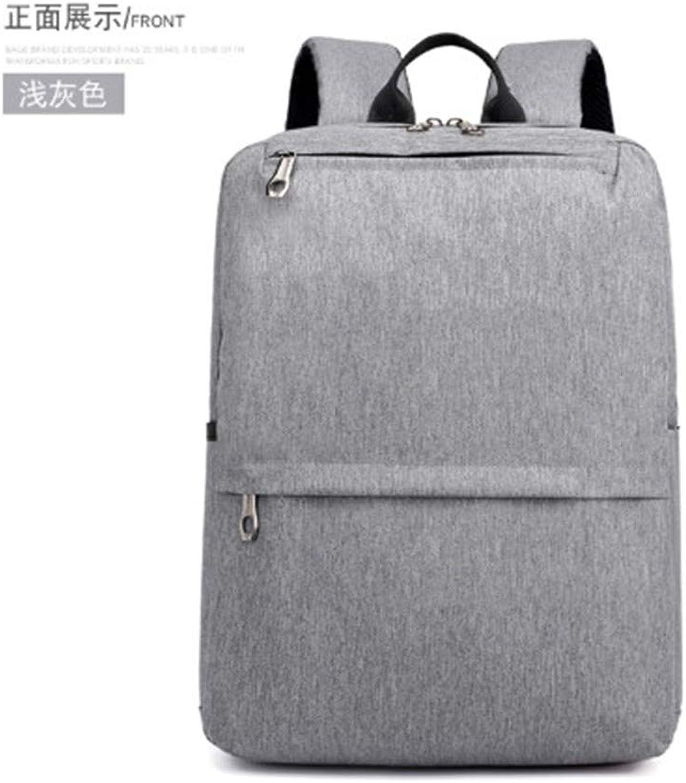 BackpackBackpack Mnner beilufiger stdtischer Windrucksack-Trolley fixiert mit Reisetasche Business-Laptop-Tasche Mnner und Frauen Highschool Studententasche