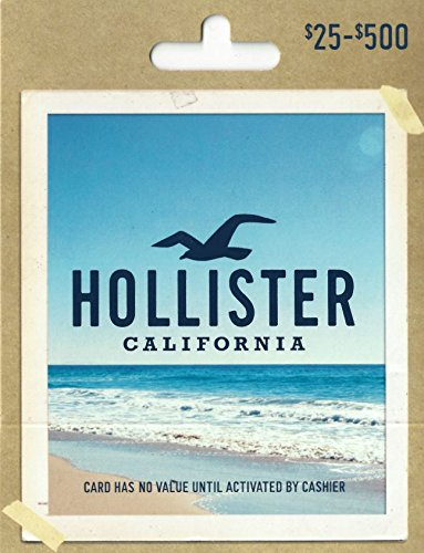 Hollister Gift New Shipping Free Shipping Discount mail order Card
