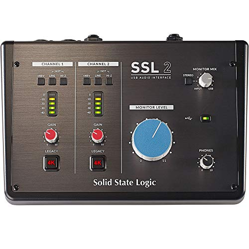 SSL 2 Solid State Logic USB 2.0 Interfaz de Audio
