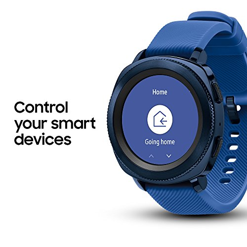 Samsung Gear Sport Smartwatch (Bluetooth), Blue, SM-R600NZBAXAR – US Version with Warranty