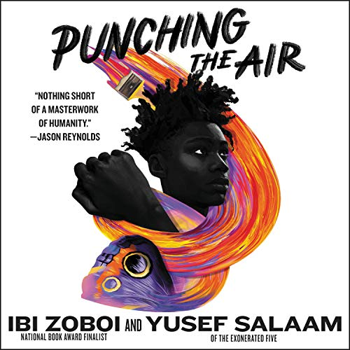 Punching the Air audiobook cover art