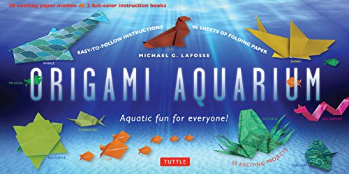 Origami Aquarium Ebook: Aquatic fun for everyone!: Origami Book with 20 Projects: Great for Kids & Adults! (English Edition)