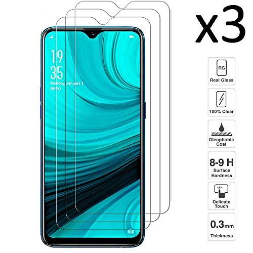 iGlobalmarket [Pack Ahorro - 3 Unidades] Protector de Xiaomi Redmi Note 8T, Vidrio Templado, sin Burbujas, Alta Definicion, 9H Dureza, Resistente a Arañazos