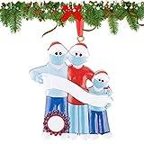 UFLF Adornos Colgantes Navideños Adornos Sobrevivido Familia para Árbol Navidad Ornament...