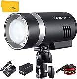 Godox AD300Pro AD300 Pro TTL Studio Flash 300Ws 2.4G HSS 1 / 8000s con batería de Litio de Alto Rendimiento y Montaje Bowens Compatible para Nikon Canon Sony Fuji Olympus Cámara Panasonic