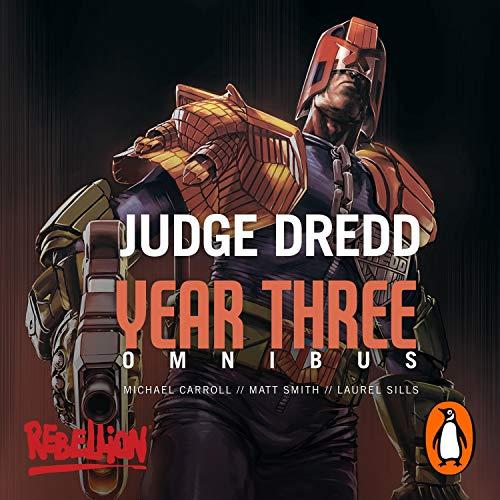 Judge Dredd: Year Three cover art