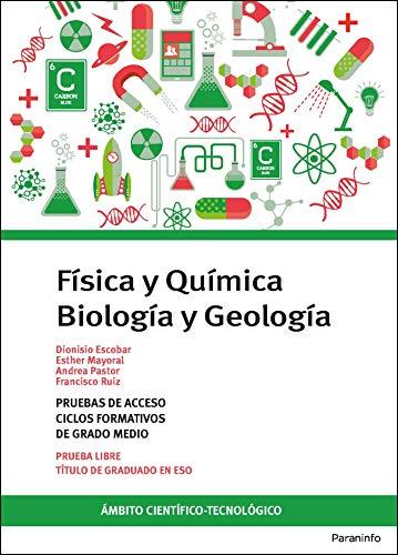 Temario pruebas de acceso a ciclos formativos de grado medio. Ámbito científico-tecnológico. Biología y Geología....