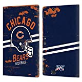 Head Case Designs Licenciado Oficialmente NFL Casco Distressed Look 100th Chicago Bears Logo Art Car...