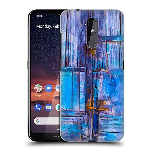 Officiële Haroulita Oude Deur Santorini Straten Hard Back Case Compatibel voor Nokia 3.2