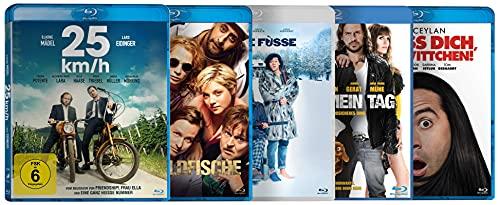 Deutsche Comedy Filme Collection (25 km/h, Goldfische, Kalte Füsse, Nicht mein Tag, Verpiss dich Schneewittchen!) [Blu-ray]