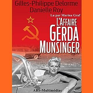 Page de couverture de L'Affaire Gerda Munsinger