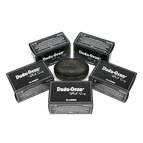 5er Pack Dudu Osun - Schwarze Seife aus Afrika Original Black Soap 5x150g