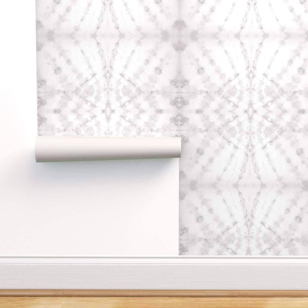 Spoonflower Peel and 国際ブランド Stick Shibori Pattern Wallpaper Removable お得なキャンペーンを実施中