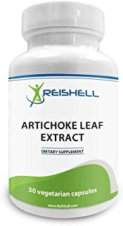 ReiShell Artichoke Extract 700 mg (S.E 5% Cynarin 35mg) – Promotes Liver Health and Lower Cholesterol - Non-GMO & Gluten F...