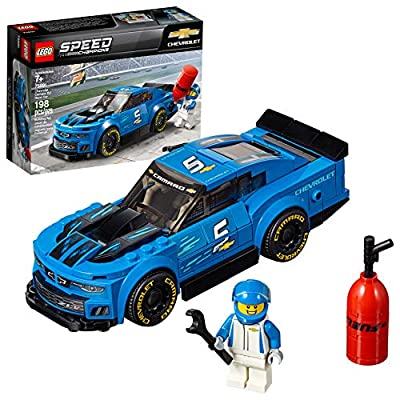 LEGO Speed Champions Chevrolet Camaro ZL1 Race Car 75891 Building Kit (198 Pieces)