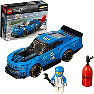 LEGO Speed Champions Chevrolet Camaro ZL1 Race Car 75891 Building Kit , New 2019 (198 Piece)